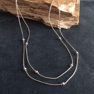 Native American Liquid Sterling Necklace